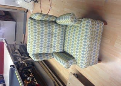 Uitgevoerd in Höpke - Hopke meubelstoffen
